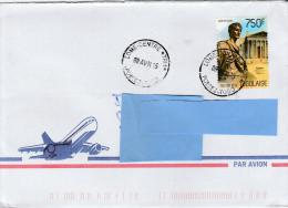 Z3] RARE: Enveloppe Cover Togo Romain Roman Auguste Augustus - Storia