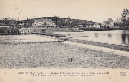 Chissay 41 - Ecluse Et Barrage - France