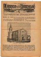L´AMICO DELLE FAMIGLIE - INCISIONE IL NUOVO SANTUARIO DI MONTALTO A MESSINA 1911 - Libri, Riviste, Fumetti