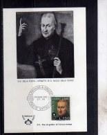 VATICANO VATIKAN VATICAN CARTOLINA MAXIMUM MAXI CARD 27 11 1975 S. SAN PAOLO DELLA CROCE LIRE 150 FDC - Cartas Máxima