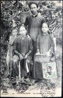 VIETNAM INDOCHINE  COCHINCHINE UN NOTABLE ET SA FAMILLE  ETHNOLOGIE - Viêt-Nam