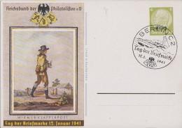 Elsass Ganzsache Minr.P3 SST Berlin 12.1.41 - Besetzungen 1938-45