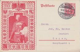 DR Privat-Ganzsache Minr. PP32 C34/02 St. Hubert 16.6.13 - Deutschland