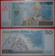 ★JOHN PAUL II★ ★ POLAND★ 50 ZLOTY 2005. UNCOMMON! UNC! CRISP! LOW START★NO RESERVE! - Pologne