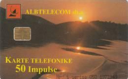 ALBANIA - Landscape, Albtelecom Telecard 50 Units, 05/99, Used - Albanie