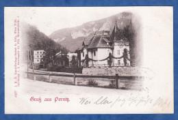 CPA De 1900 - Gruss Aus PERNITZ - L.N.O Kunst Verlags Unstalt H. Kölz , Wien - Cachet De Leobersdorf - Pernitz