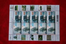 VEL / KLEINBOGEN; WinterBomen Tree  V2528-2529 2528-2529 2007 POSTFRIS / MNH ** NEDERLAND / NIEDERLANDE / NETHERLANDS - Blocchi