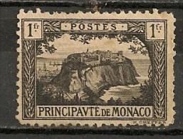 Timbres - Monaco - 1922-1924 - 1 Fr. -