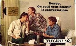 TELECARTE. RONDO. 50 U   REF T 77 - Werbung