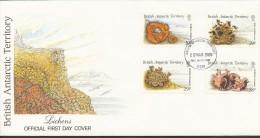 Britische Gebiete In Der Antarktis  - Mi.Nr.  152 - 155  -   Erstagstempel - FDC