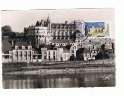 FRANCE: Carte Maximum: CHATEAU D'AMBOISE  1er Jour - Castles