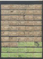 _4Zw-337: Restje  Van 45 Zegels : Diverse.... Om Verder Uit Te Zoeken... - Travancore