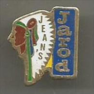 Jean's Jarod  Tete  D Indien - Pin's