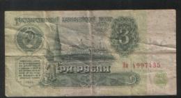 RUSSIA 3 Rubles 1961 - Russia