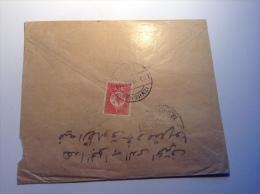 Turquie, Turkey, 20p Cds BENGHAZI 1910 (LIBYA, LIBYE) On Cover > Tripoli? (Brief, Lettre, Türkei) - 1858-1921 Empire Ottoman