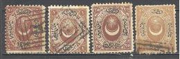 Turquie: Yvert Timbres Taxe N°5/9 + 9 + 10°; Voir Scan - 1921-... République