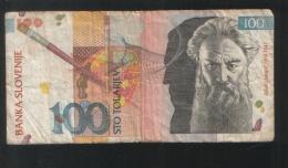 SLOVENIA 100 Tolara 1992 - Slovenia