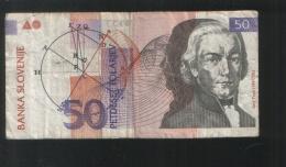 SLOVENIA 50 Tolara 1992 - Slovenia