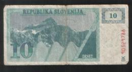 SLOVENIA 10 Tolara 1990 - Slovenia