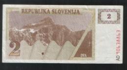 SLOVENIA 2 Tolara 1990 - Slovenia