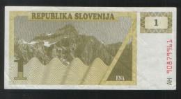 SLOVENIA 1 Tolara 1990 - Slovenia