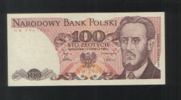 POLAND 100 Zloty 1986 - Poland