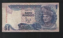 MALAYSIA 1 Dollar Ringgit 1986 - Malaysia