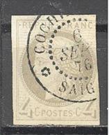 Colonies Générales: Yvert 16°; 3 Belles Marges; Oblitération Saigon; Cochinchine; Voir Scan - Cérès