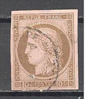 Colonies Générales: Yvert 18°; 4 Belles Marges; Petit Clair; Voir Scan - Cérès