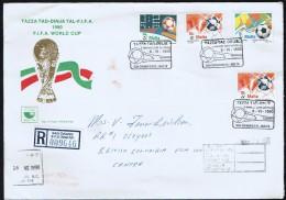 1990   FDC  Championnat Du Monde FIFA - Football Recommandé Pour Le Canada - Malta