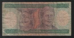 BRAZIL 200 Cruzeiros 1984 - Brazil