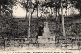 VAR 83 LA ROQUEBRUSSANNE  AMPHITHEATRE ET TERRE PLEIN DE ND DE L'INSPIRATION - La Roquebrussanne