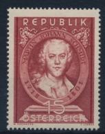 **Österreich Austria 1951 ANK 982 Mi 965 (1) Schmidt Baroque Painter MNH - 1945-60 Ungebraucht
