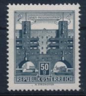 **Österreich Austria 1959 ANK 1093 Xc Graublau Mi 1044 (1) Paper Gelblich Bauten Building Architecture Flats MNH - 1945-60 Ungebraucht