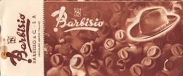 """03294 """"BARBISIO & C.  - BUONO D'ACQUISTO CON SCONTI AI SOCI TOURING CLUB ITALIA 1946 / 1947"""". COUPON ORIGINALE. - Pubblicitari"""