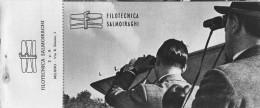 """03298 """"FILOTECNICA SALMOIRAGHI  - BUONO D'ACQUISTO CON SCONTI A SOCI TOURING CLUB ITALIA 1946 / 1947"""". COUPON ORIGINALE. - Pubblicitari"""