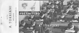 """03310 """"PRESBITERO A. TORRIANI - BUONO D'ACQUISTO CON SCONTI A SOCI TOURING CLUB ITALIA 1946 / 1947"""". COUPON ORIGINALE. - Pubblicitari"""