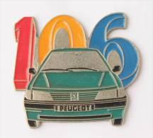 Pin's PEUGEOT 106 - La Voiture - Grand Modèle - Pins Up -  E066 - Peugeot