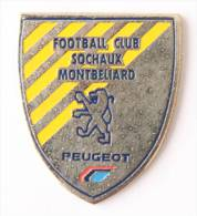 Pin's PEUGEOT - Football Club SOCHAUX MONTBELIARD - Le Blason - Le Logo Lion - E067 - Peugeot