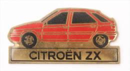 Pin's CITROEN ZX Rouge  - E079 - Citroën