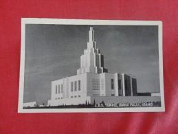 Idaho> Idaho Falls  LDS Temple  -ref 1772 - Idaho Falls
