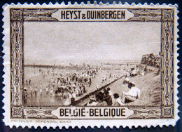 BELGIUM Heyst & Duinbergen Cinderella Mint No Gum - Autres
