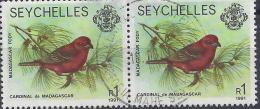 SEYCHELLES -  Yvert N° 740 X2 - Oblitérés - Seychelles (...-1976)