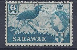 SARAWAK -  Yvert N° 192 - Oblitéré - Sarawak (...-1963)