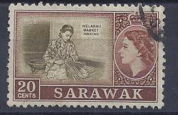 SARAWAK -  Yvert N° 197 - Oblitéré - Sarawak (...-1963)