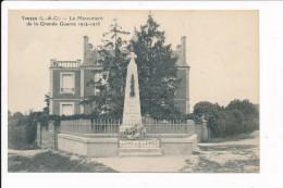 Carte De VOUZON  ( Monument Aux Morts )   ( Recto Verso ) - France