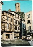Foix: RENAULT 4 & 4-COMBI - Vieilles Demeures Et Le Chateau    - (Ariège, France) - Passenger Cars