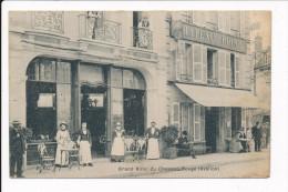 Carte D' AVALLON  Grand Hôtel Du Chapeau Rouge  ( Beau Plan ) ( Recto Verso ) - Avallon