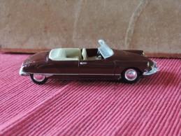 Citroen Cabriolet DS 19  1963 - Norev 1/43 - N°1998 - Norev