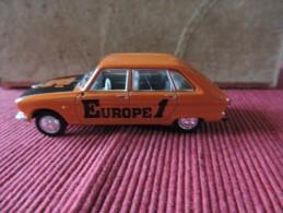 Renault 16  - Norev 1/43 -  Europe 1 - Norev